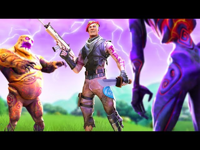 Trying out fortnites horde rush