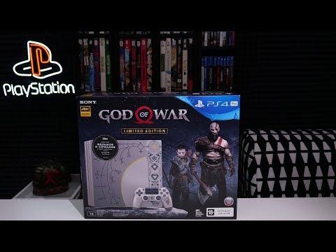 PlayStation 4 PRO GOD OF WAR LimiteD EditioN (откроем посмотрим)