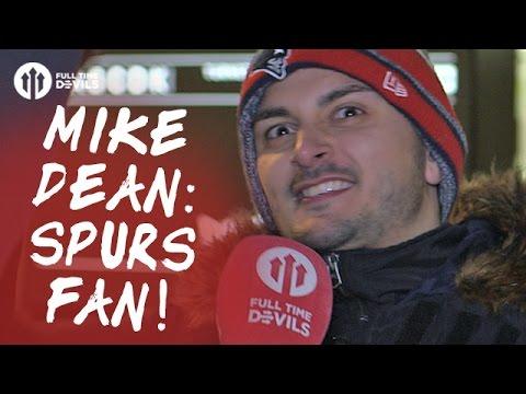 Mike Dean: Spurs Fan! | West Ham United 0-2 Manchester United | FANCAM