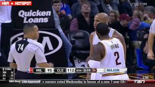 NBA Technical Fouls and Ejections  2016-2017 Season part 1
