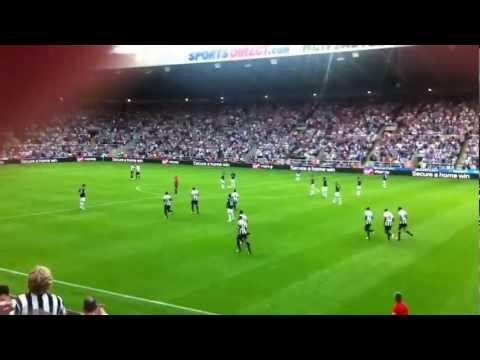 Hatem Ben Arfa penalty vs Spurs 18.08.12 Newcastle 2-1
