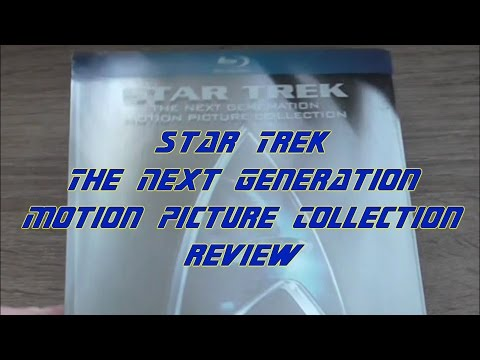 Star Trek The Next Generation Motion Picture Collection - review