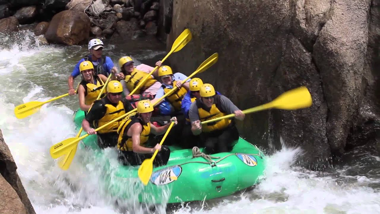 Arkansas River Rafting Whitewater