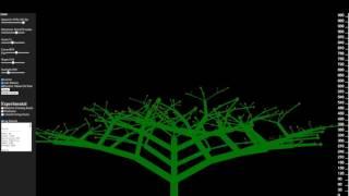 Tree Generator (Javascript and HTML5 Canvas)