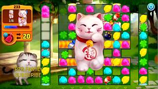 Lets play Meow match level 233 HARD LEVEL HD 1080P Lets play Meow match level  HARD LEVEL HD 1080P