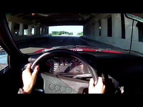 1985 Audi Ur-Quattro - WR TV POV Test Drive