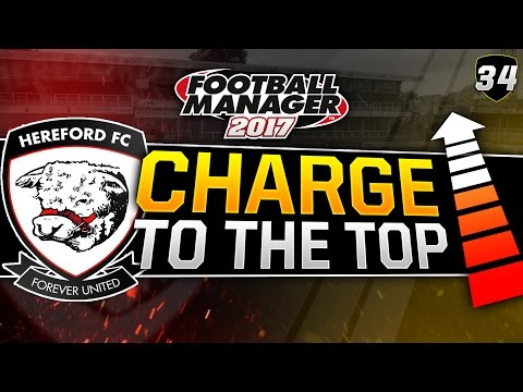 Charge to the Top - Episode 34: 3 MATCHES LIVE | Football Manager 2017