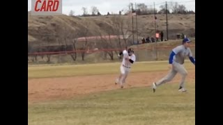 Baserunner Skips Third To Score On Squeeze Play