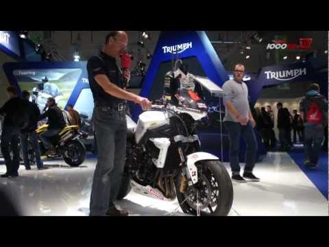 Triumph Street Triple Cup Version-Intermot 2012