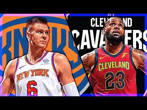 NBA 2K18 | MY LEAGUE | NEW YORK KNICKS | #7 vs Cleveland Cavaliers