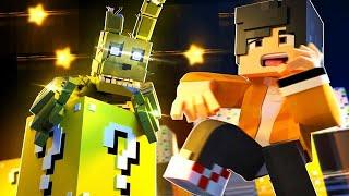 Minecraft: Lucky Run - AS LUCKY BLOCKS DO SPRINGTRAP! #01
