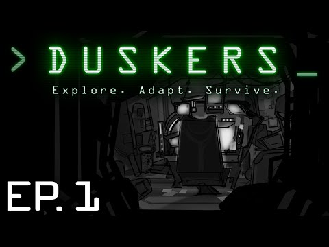 Duskers - Ep. 1 - SPACE DRONE EXPLORATION | Let's Play Duskers!
