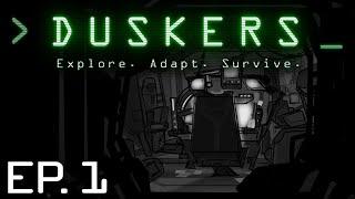 Duskers - Ep. 1 - SPACE DRONE EXPLORATION   Let