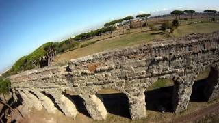 FPV Roman Aqueduct