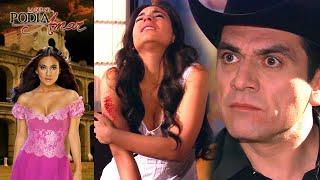 La que no podía amar: ¡Rogelio le pega a Ana Paula! | Escena C57
