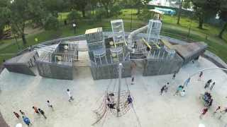 Battleship playground at Sembawang Park