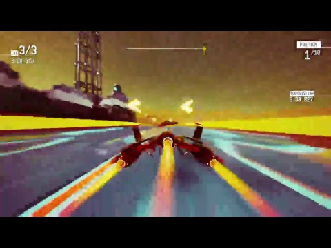 Redout: Mars Speed Run |