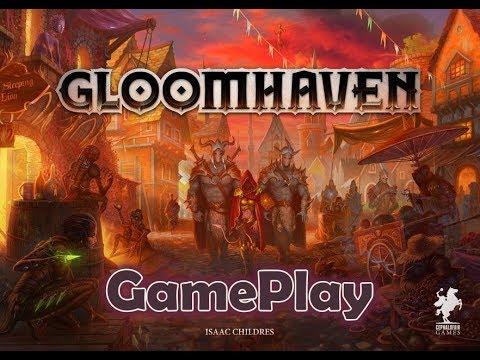 Gloomhaven - запись рандомного приключения с объяснениями правил