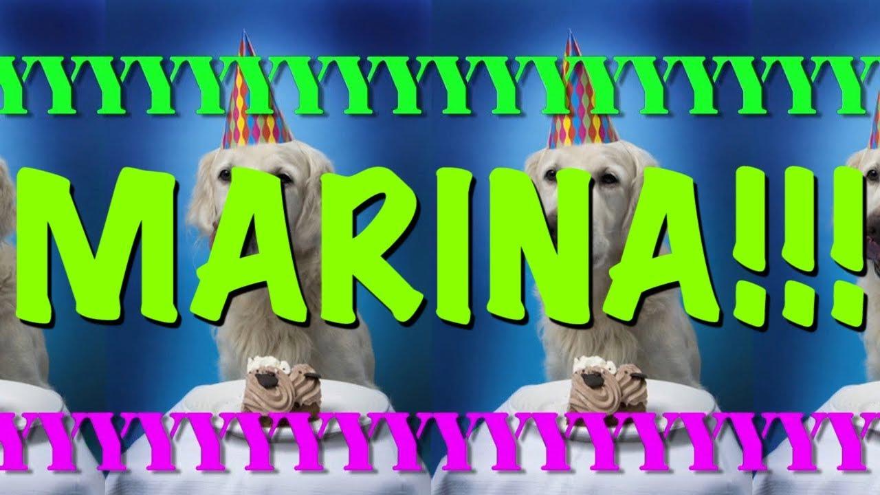 happy birthday marina