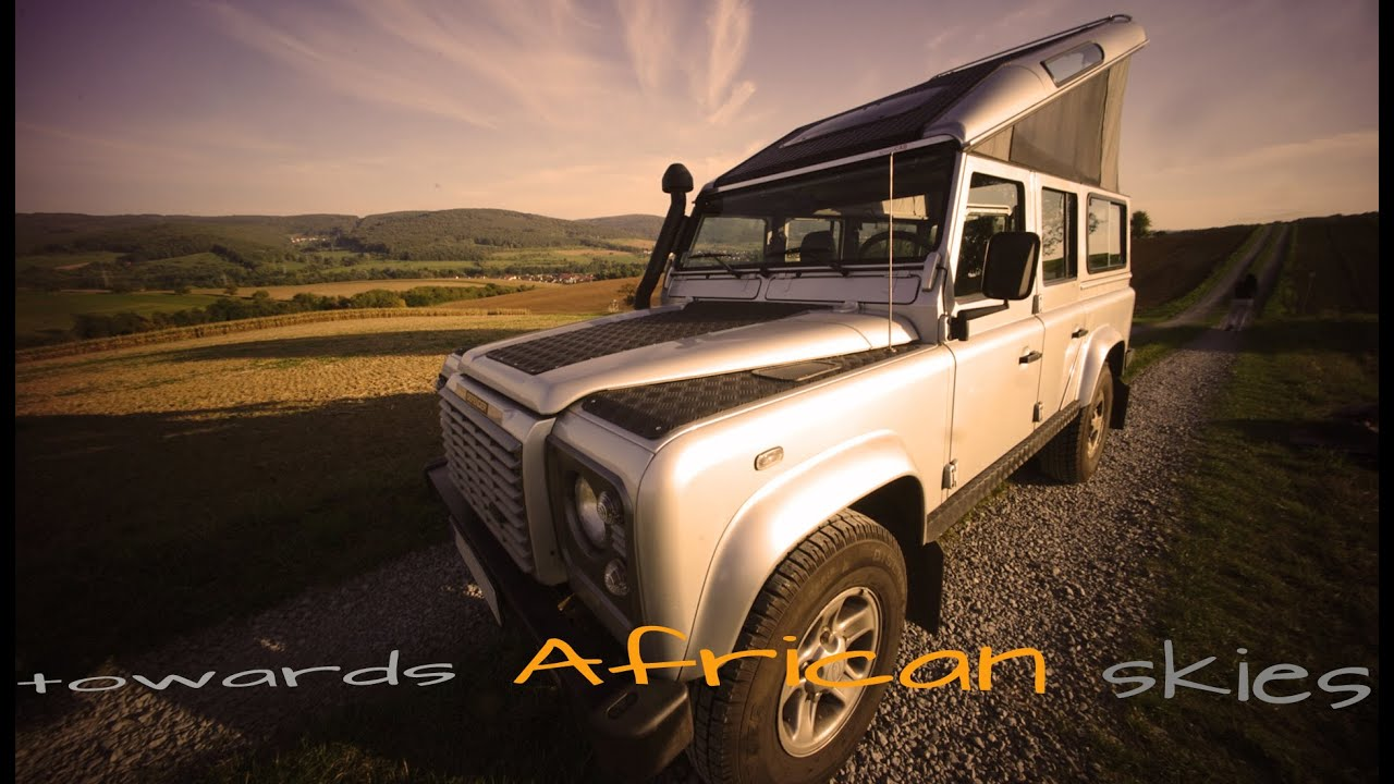 Land Rover Defender 110 expedition camper ready for africa XTENT