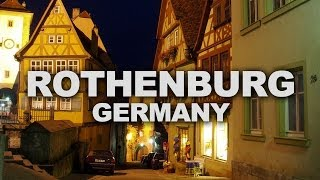 Rothenburg, an Untouched Medieval Town in Germany