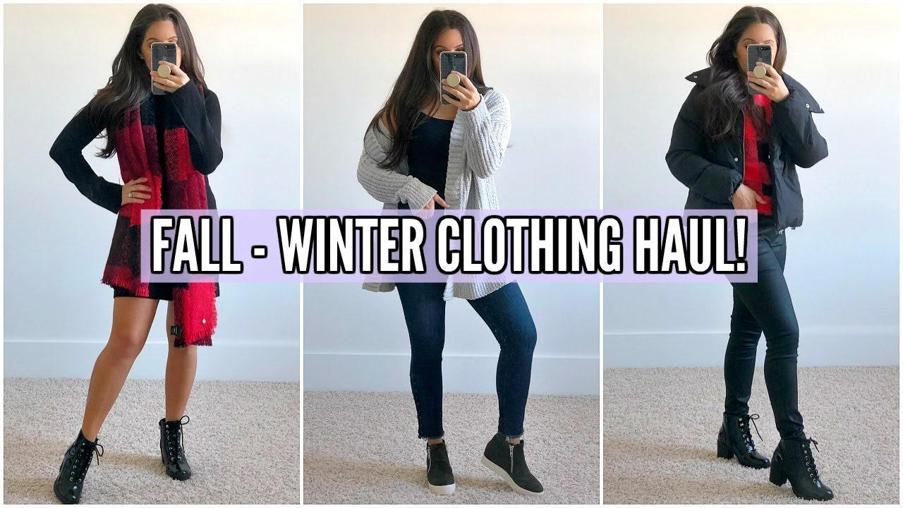 TRY-ON HAUL! COZY, WARM OUTFIT IDEAS FOR FALL & WINTER! 2