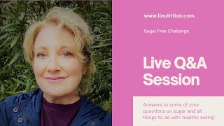 Q&A session for Sugar Stop Challenge