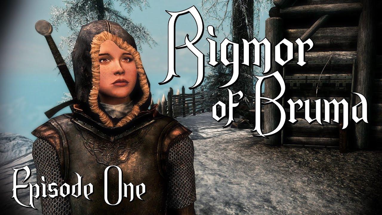 Let's Play Rigmor of Bruma #1 - Skyrim Quest Mod -
