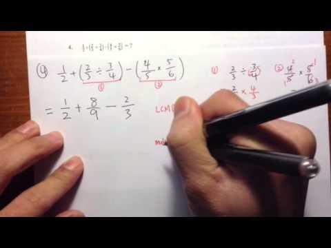 [COMPASS] (Q4.) Numerical Skills/Pre-algebra, official practice problems