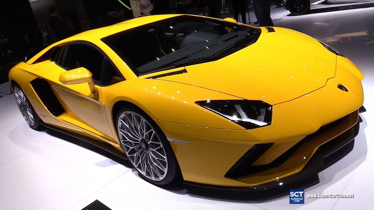 2017 Lamborghini Aventador S Exterior And Interior Walkaround 2017 Geneva Motor Show Youtube