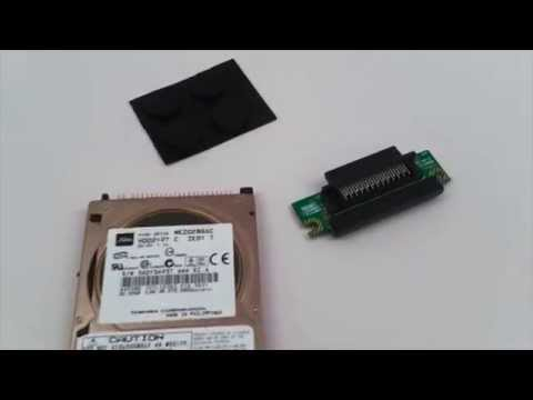 Akai MPC1000 Hard Drive Kit HDM10 V2 Installation - MPCstuff com