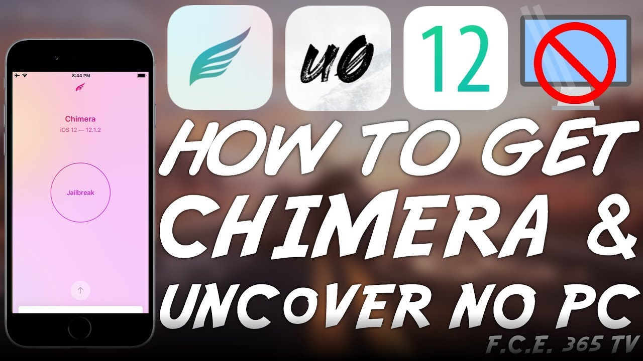 How to Install Unc0ver and Chimera JAILBREAK WITHOUT COMPUTER (NO PC) iOS  12 0 - 12 1 2
