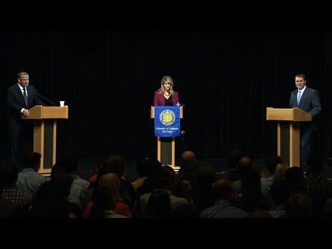 Filner v. DeMaio at UC San Diego --  San Diego Mayoral Forum