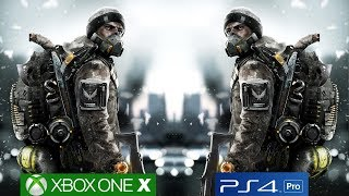 The Division Xbox One X vs PS4 Pro, Xbox One X Version Mostly Runs At Native 4K