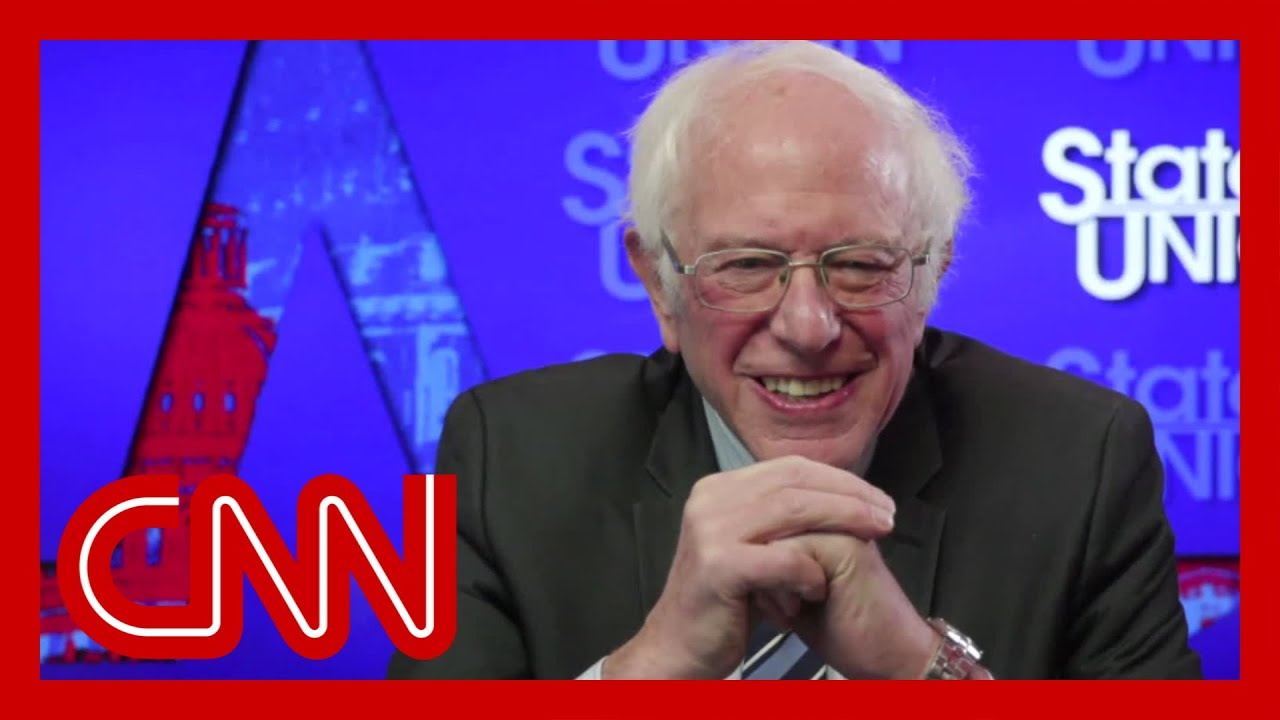 Bernie Sanders Reacts To Viral Mitten Memes Youtube