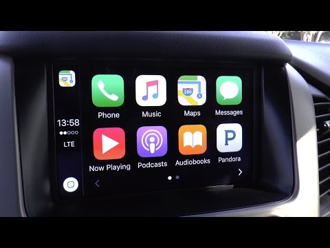 LTC - GM's Apple CarPlay (2016 GMC Yukon Denali XL)