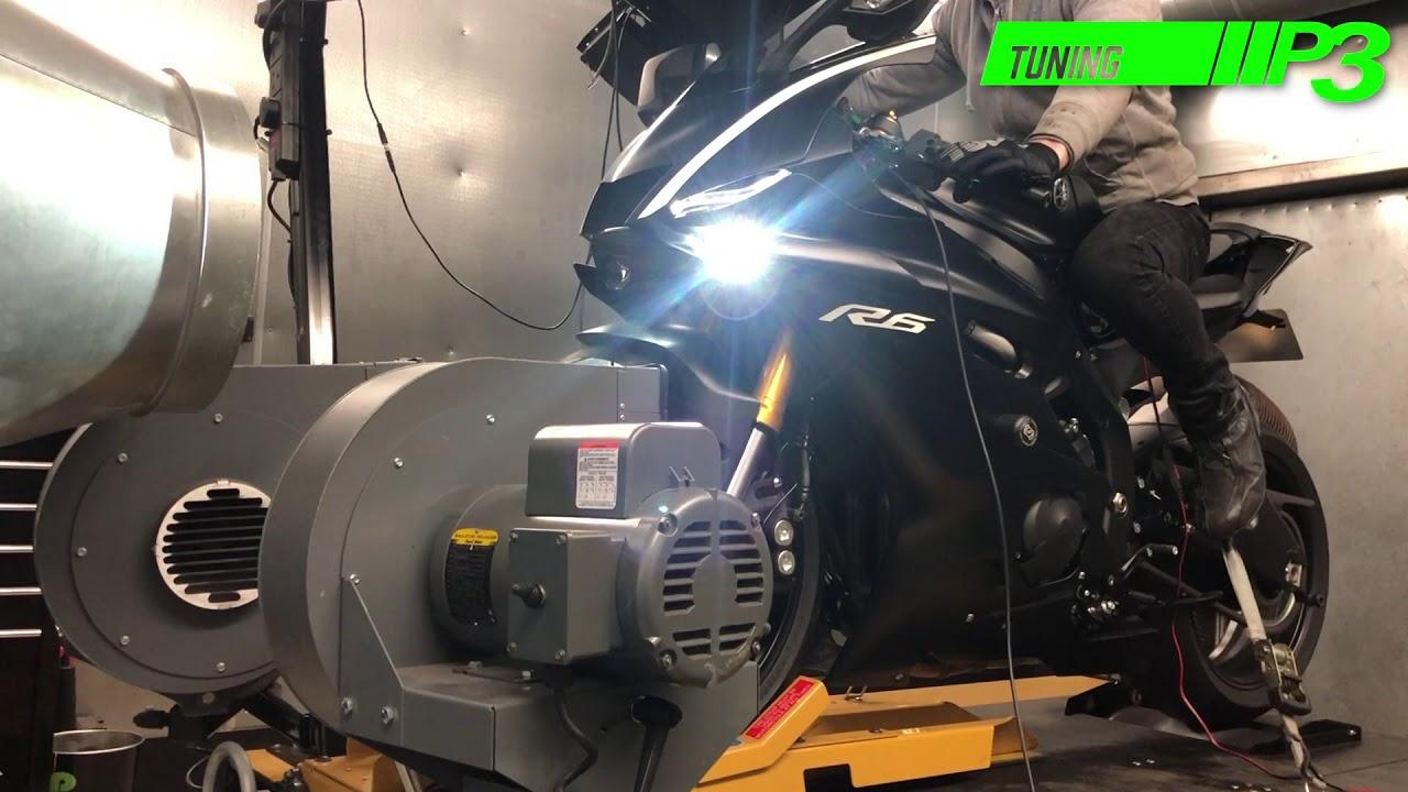 Yamaha YZF R6 2017 Full Custom ECU mapping using Woolich Racing Software P3  Tuning
