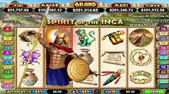 Spirit of the Inca™ slot game by RTG | Gameplay video by Slotozilla