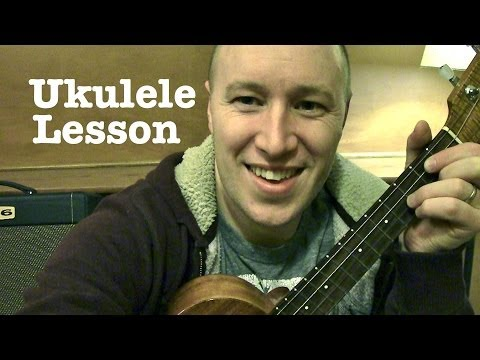 Hey There Delilah- Ukulele Lesson (EASY) Plain White T's  Todd Downing