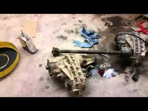 Removal and Install of Transfer Case Ford F-150 1997
