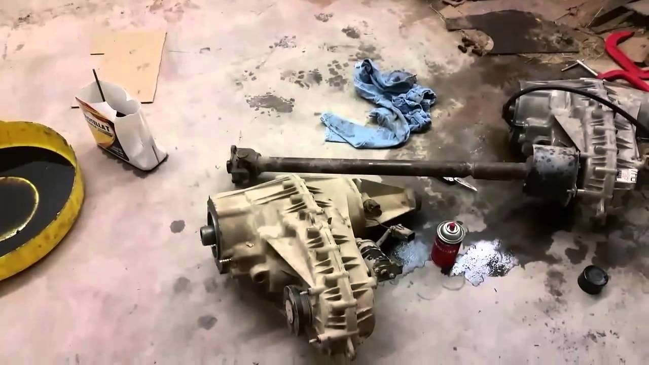 Removal And Install Of Transfer Case Ford F 150 1997 Youtube 2000 Pick Up Wiring Diagram