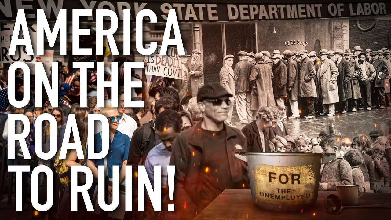 America On The Road To Ruin! Long Term Economic Collapse, Worse Than The Great Depression !!