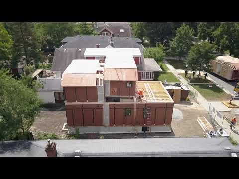 Modular Home Raising
