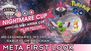 Nightmare Cup META | First Look at the Strongest Meta Pokemon | Pokemon Go PvP