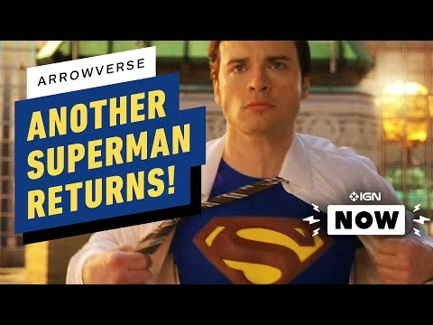 Smallville's Tom Welling Returns As Superman In Arrowverse Crossover - IGN Now