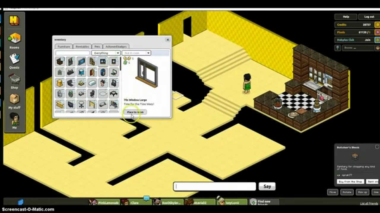 How to make a house on habbo part1 youtube How to modernise your house
