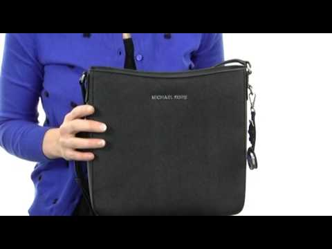 1e14ae6fd474 MICHAEL Michael Kors Jet Set Travel Lg Messenger SKU  8258002 - YouTube