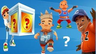 SUBWAY SURFERS: E.Z. , KING and BJARKI ( Who Found Super Mystery Box on Subway ? )