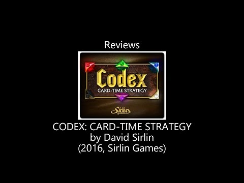 Codex Review by All the Games You Like Are Bad : boardgames