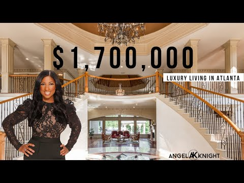 Atlanta 20,000 SQFT MANSION - $1.7 Million Dollar Home Listed & Sold By AngelKnight.com
